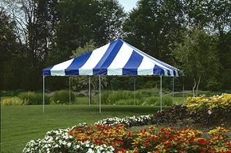 Where to find ROPE TENT, 15  X 15  STRIPED in Detroit