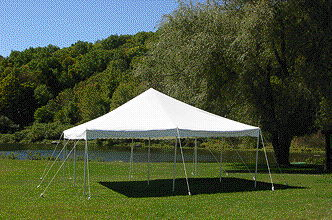 Where to find ROPE TENT, 20  X 20  WHITE in Detroit