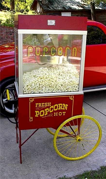 Where to find POPCORN POPPER, LARGE W  CART in Detroit