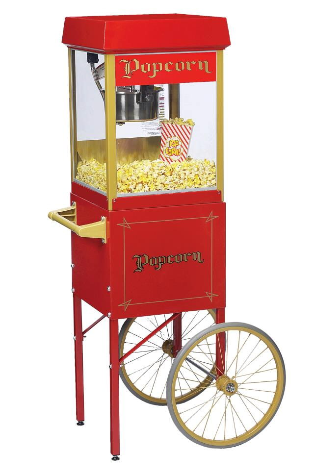 Where to find POPCORN POPPER, SMALL W CART in Detroit
