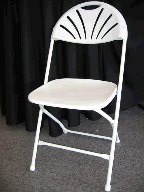 Where to find CHAIR, SAMS. WHITE FAN BACK in Detroit