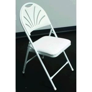 Where to find CHAIR, FANBACK WHITE PADDED in Detroit