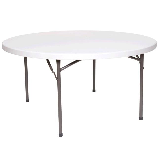 Where to find TABLE, ROUND 60  PLASTIC in Detroit
