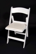 Where to rent CHAIR, WHITE PADDED in Detroit MI