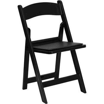 Where to find CHAIR, BLACK PADDED in Detroit