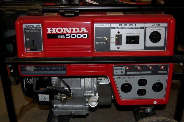 Marvelous Where To Find HONDA GENERATOR, 5000 WATT GAS In Detroit ...